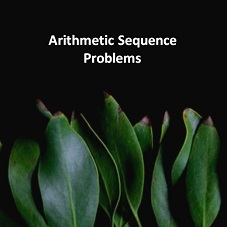 Arithmetic Sequence Problems