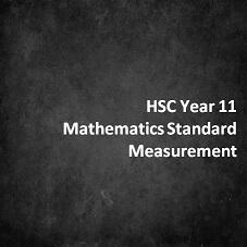HSC Year 11 Mathematics Standard Measurement