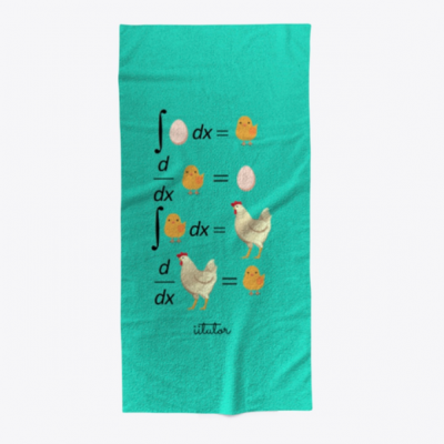 mockup beach towel