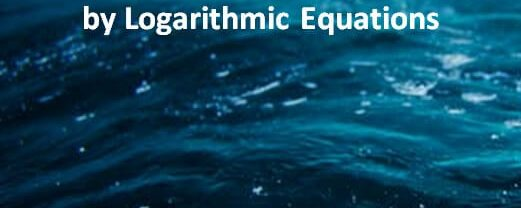 Displacement, Velocity and Distance Travelled by Natural Logarithmic Equations