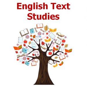 English Text Studies