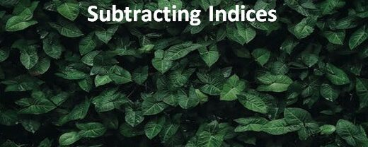 Index Law of Subtraction: Simplifying by Adding and Subtracting Indices