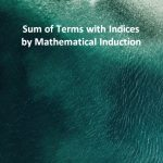Sum of Terms with Indices by Mathematical Induction
