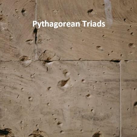 Pythagorean Triads